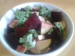 Apple and Kale Salad with Beets